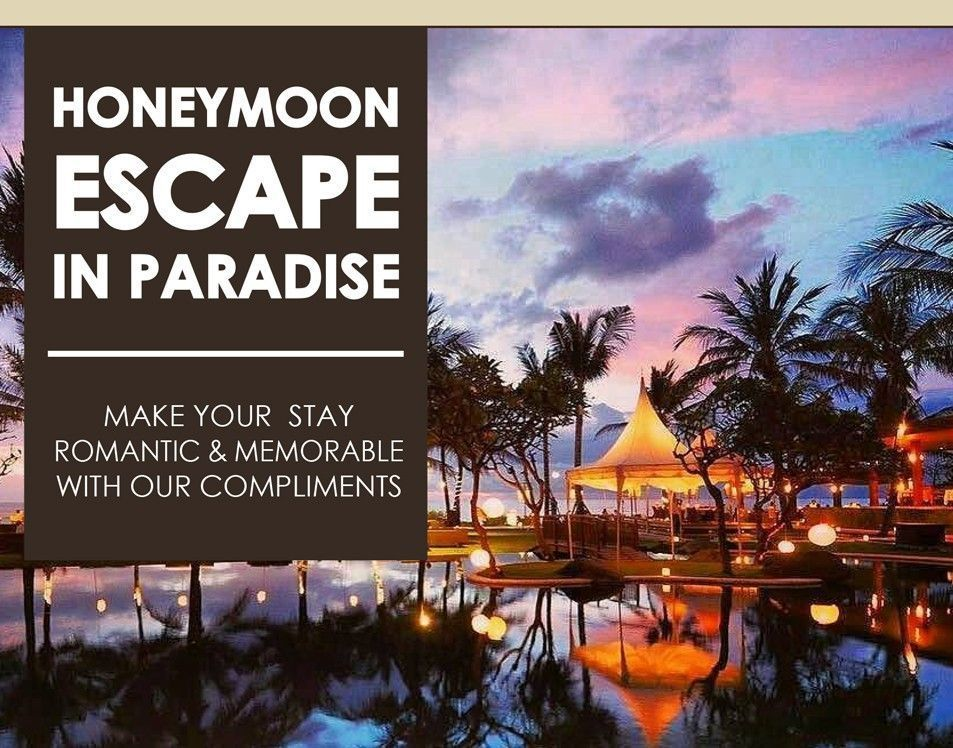 2 Nights Stay - Honeymoon Escape in Paradise