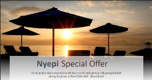 Nyepi Special Offer
