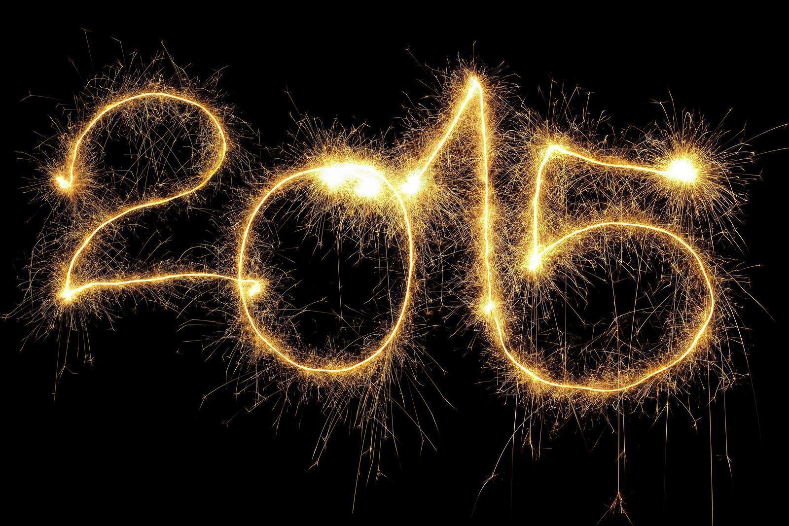 صور الاحتفالات بليلة رأس السنة الجديدة 2015