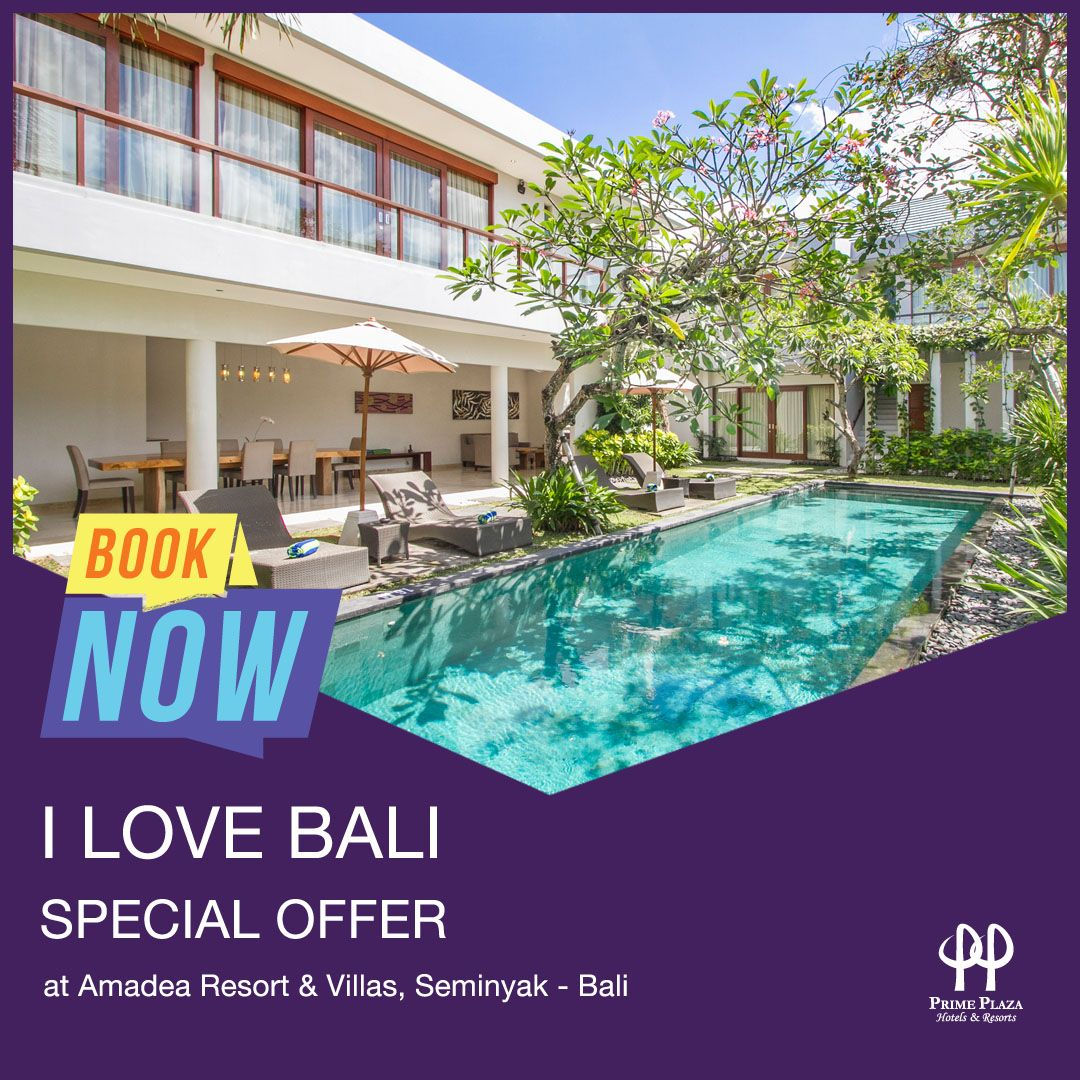 I Love Bali Promo (Indonesian & KITAS Holders only)