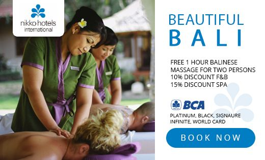 BEAUTIFUL BALI - BCA CARD PROMOTION