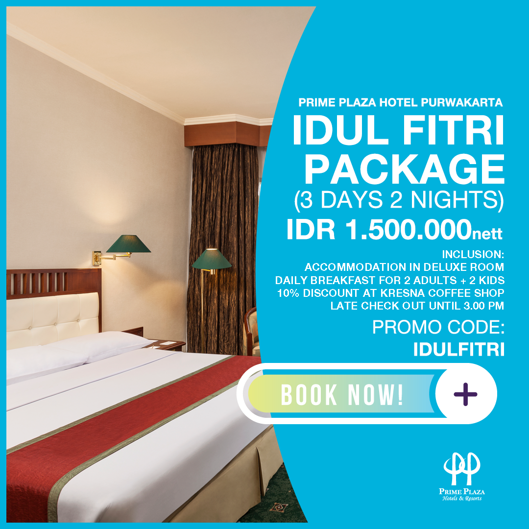 IDUL FITRI PACKAGE (PAY 1 GET 2 NIGHTS STAY)
