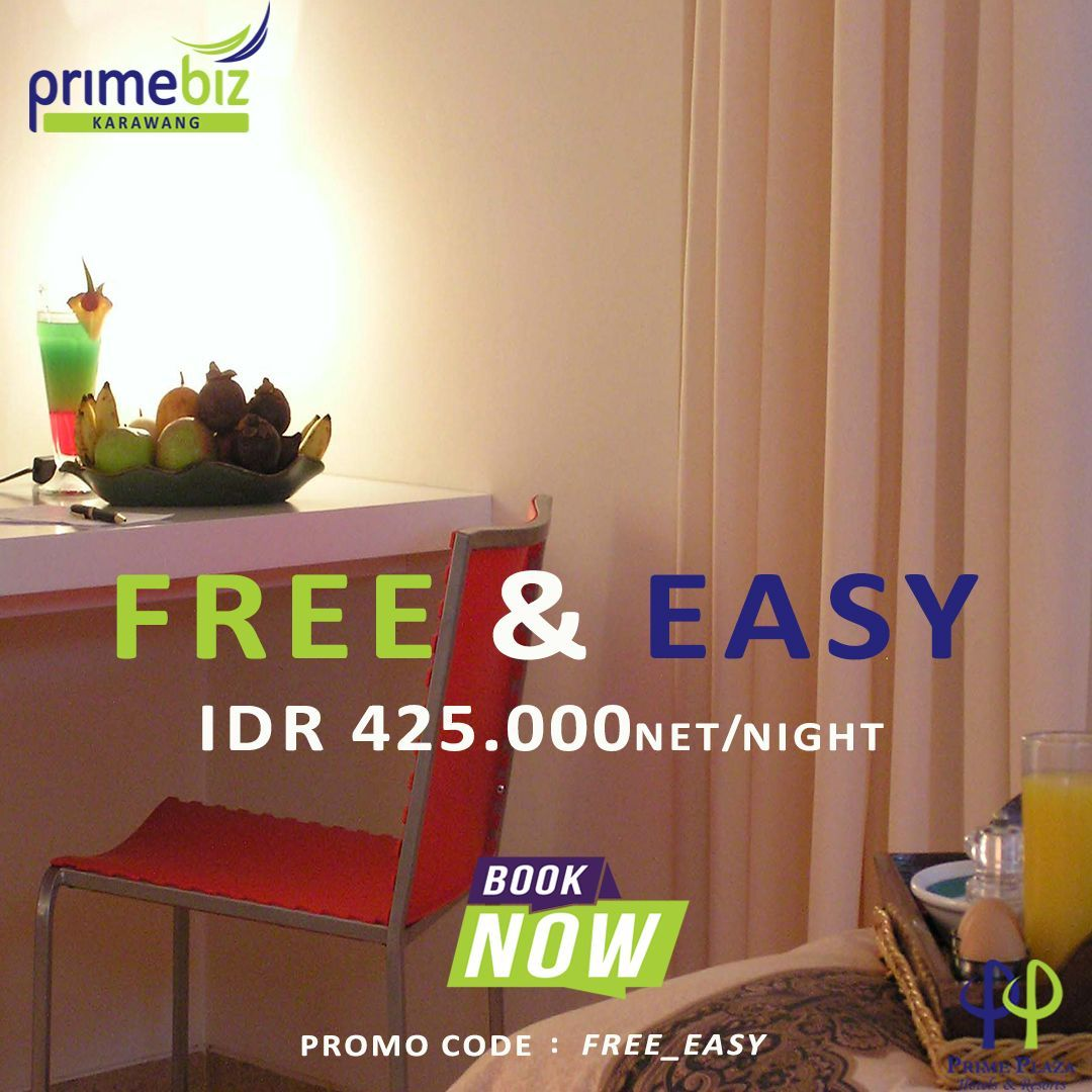 FREE & EASY 2019 AT PRIMEBIZ KARAWANG