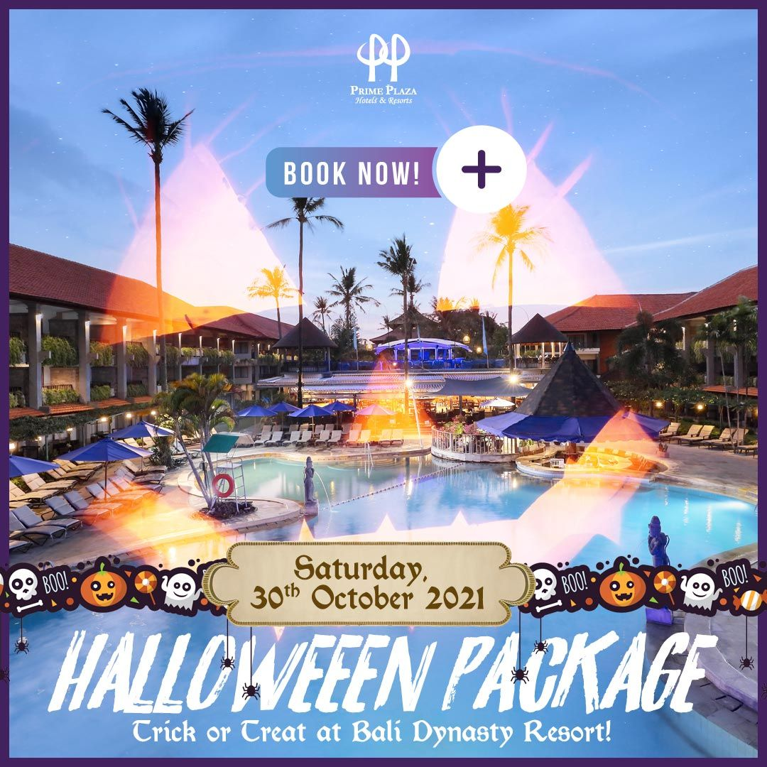 HELLOWEEN PACKAGE FOR 5 PERSONS