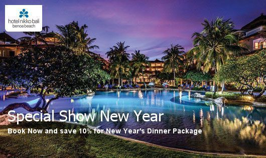 Book Now and save 10% for New Year's Dinner Package