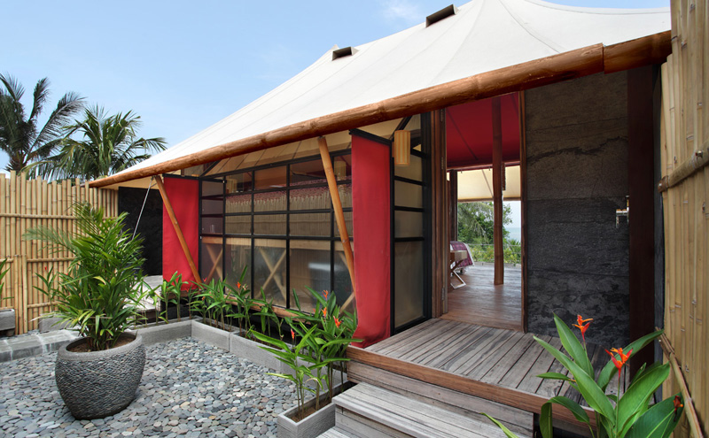 Luxury Tent Villa With Ocean View