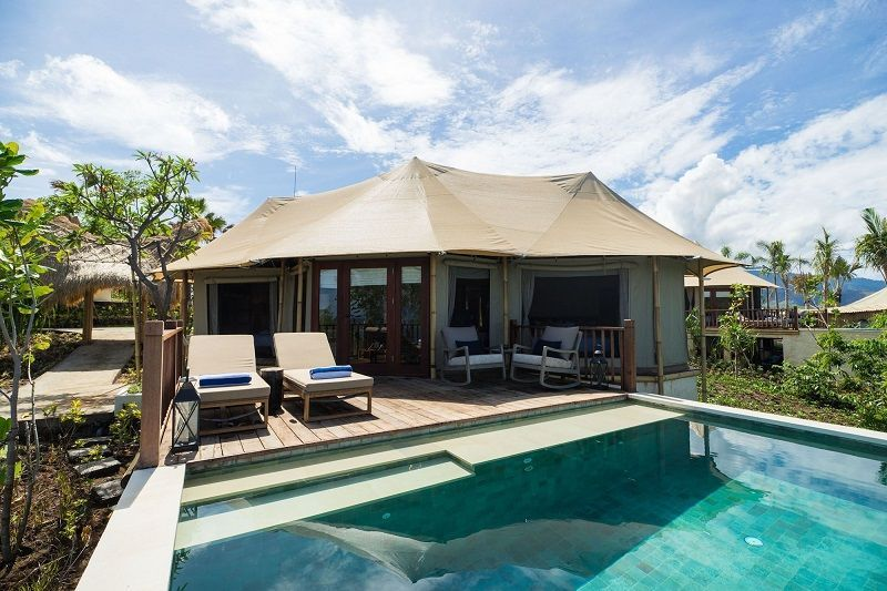 2 Bedroom Cliff Tent Villa